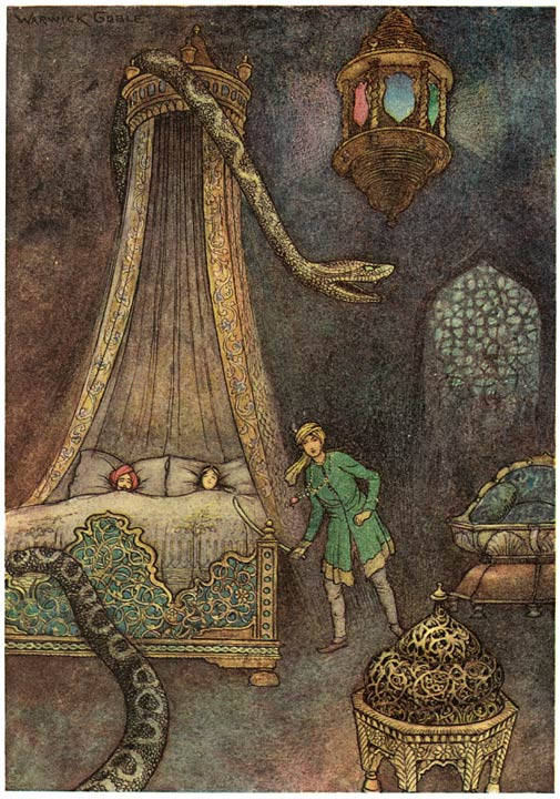 Wonderful #illustrations by English artist Warwick Goble (born #onthisday in 1862) for a collection of #folktales from Bengal.   The book can be read on http://Archive.org: https://archive.org/details/folktalesofbenga00dayluoft/page/n9…  #FaerieFridaypic.twitter.com/kIuArrGjzr
