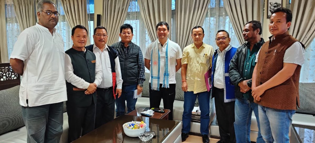 Interacted with members of Donyi Polo Cultural & Charitable trust and Indegenious faith & cultural society of Arunachal Pradesh regarding upcoming foundation laying of Donyi Polo Khumko at Pasighat. Indegenious tradition is our identity and we should protect & preserve it.