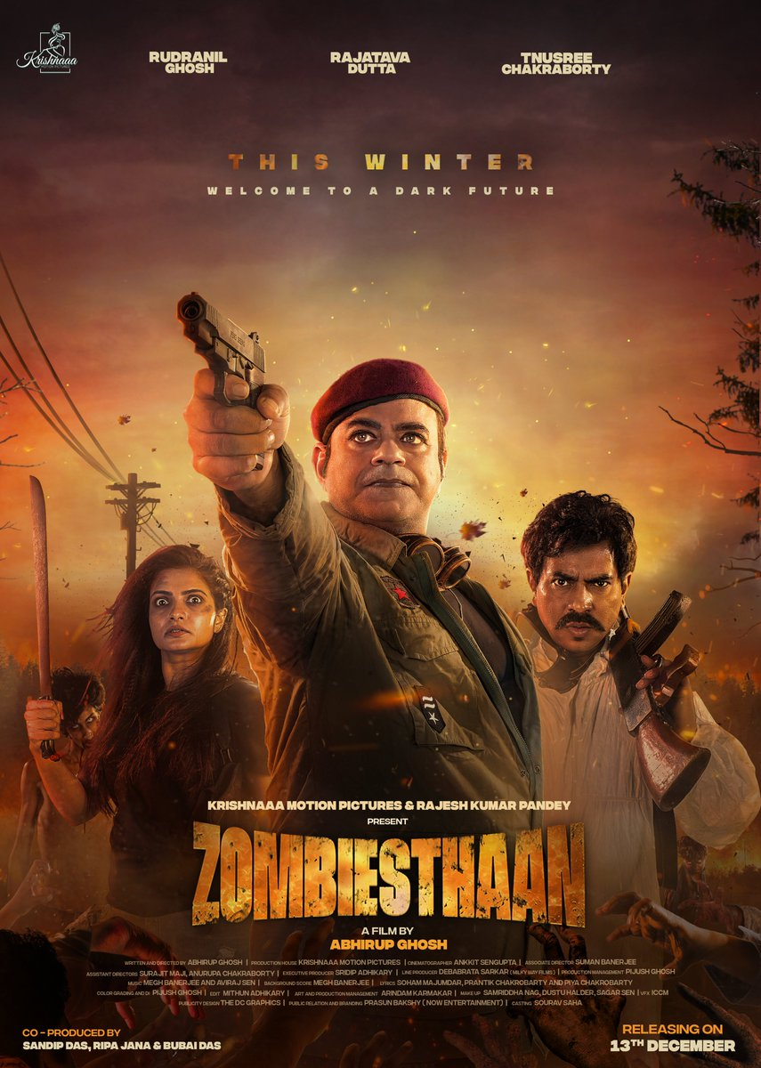 #Zombiesthaan in theaters near you. 13th December 2019.