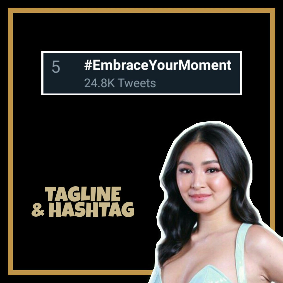 #EmbraceYourMoment on 5th spot! Thank you for watching and tweeting with us! <br>http://pic.twitter.com/Q6CKZkaKlK