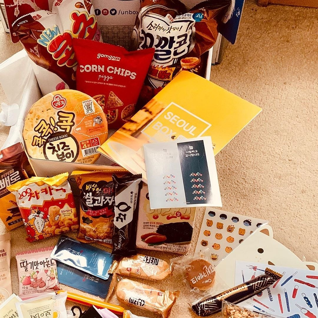 I like this box! It's amazing, has plenty in it. Variety between sweet&savoury is just perfect!- Lasma, amazing Seoulmate#seoulbox #unboxyourseoul #koreansnack #koreansnacks #subscriptionboxaddict