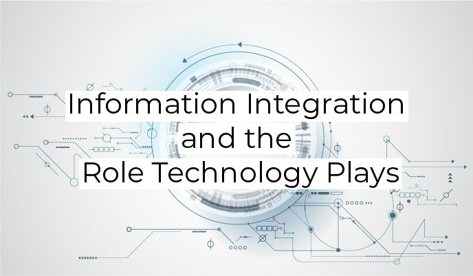 Information Integration and the Role Technology Plays https://buff.ly/2UO5008 #InformationIntegration #CRM #Cloud
