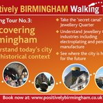 Image for the Tweet beginning: #Birmingham walking tour today takes
