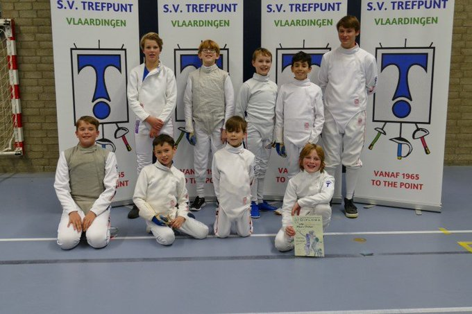 Jeugdpuntentoernooi Schermvereniging Trefpunt groot succes https://t.co/kvtPuVjLpa https://t.co/loHpSpBhYZ