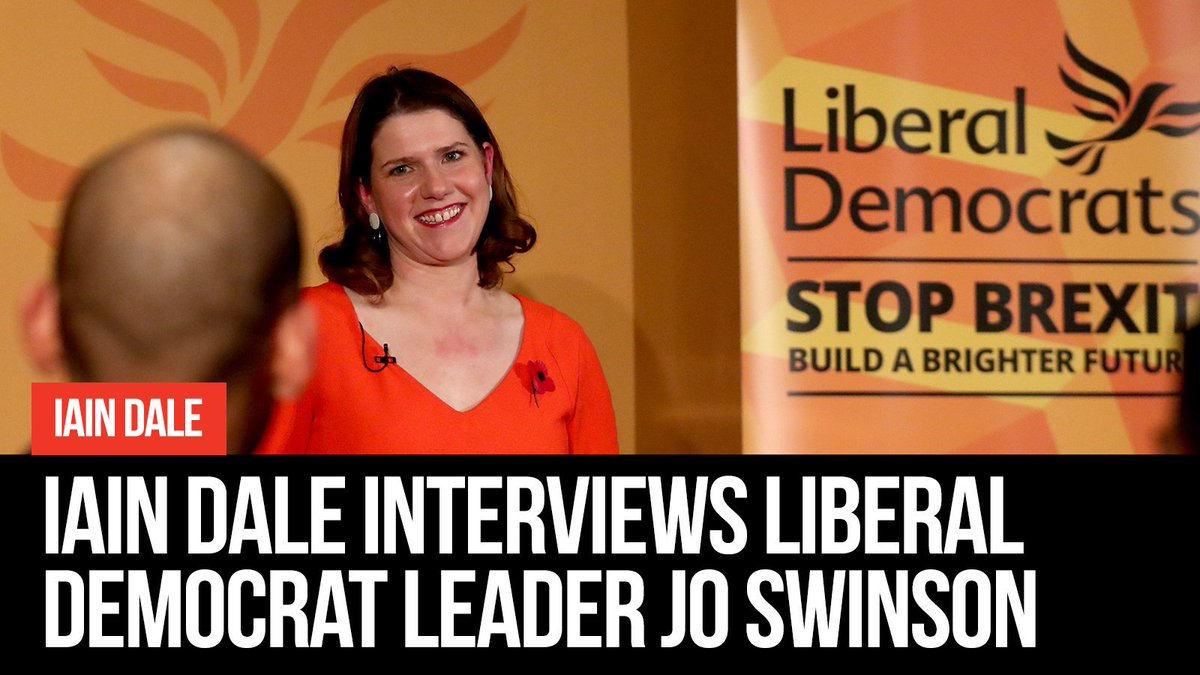 Attn Liberal Democrats & anyone who might be thinking of voting for them... An hour with @joswinson from 11am on @LBC. Feast yourselves. You can watch at lbc.co.uk or on Youtube, Facebook or the @LBC Twitter feed.