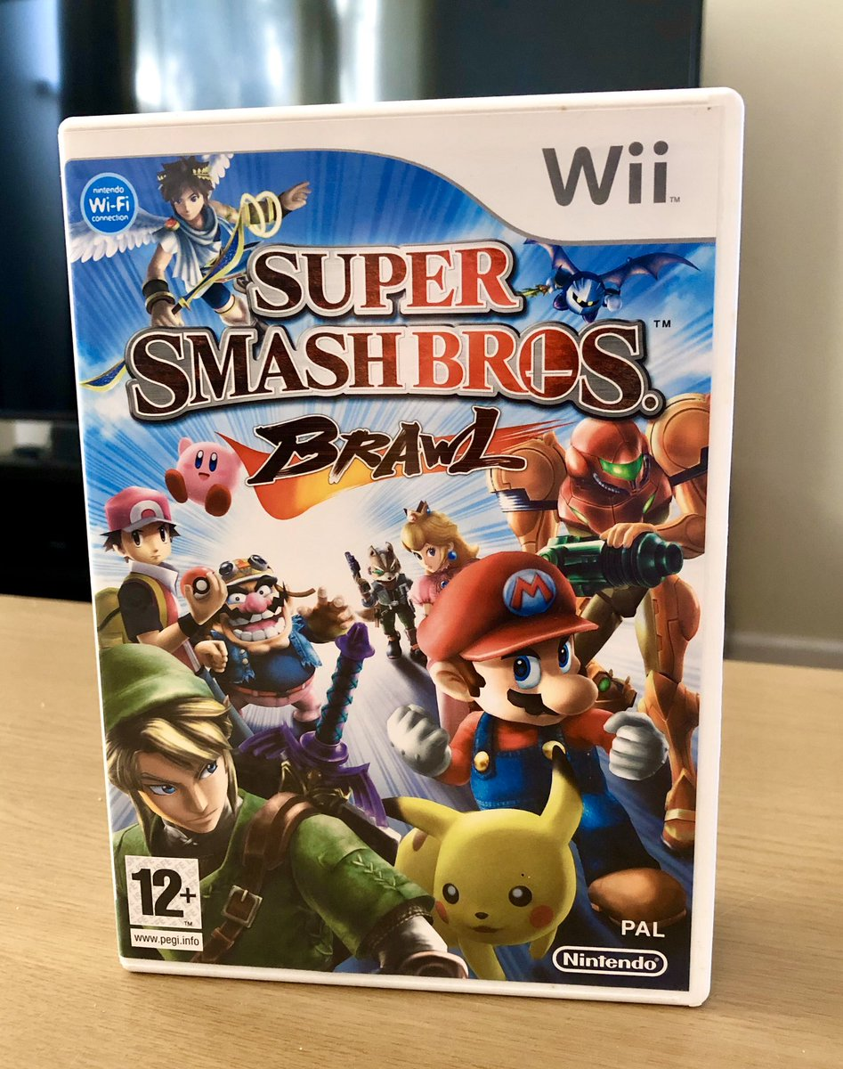 As it is the #wiikend I thought I would do another giveaway! 🎉   Who would like to own a copy of #smashbrosbrawl on the #Wii? 🎮  This #game is pretty much in mint condition & is #cib.  To win this look at the #tweet below for the rules, GOOD LUCK!! 😉   #Nintendo #mario