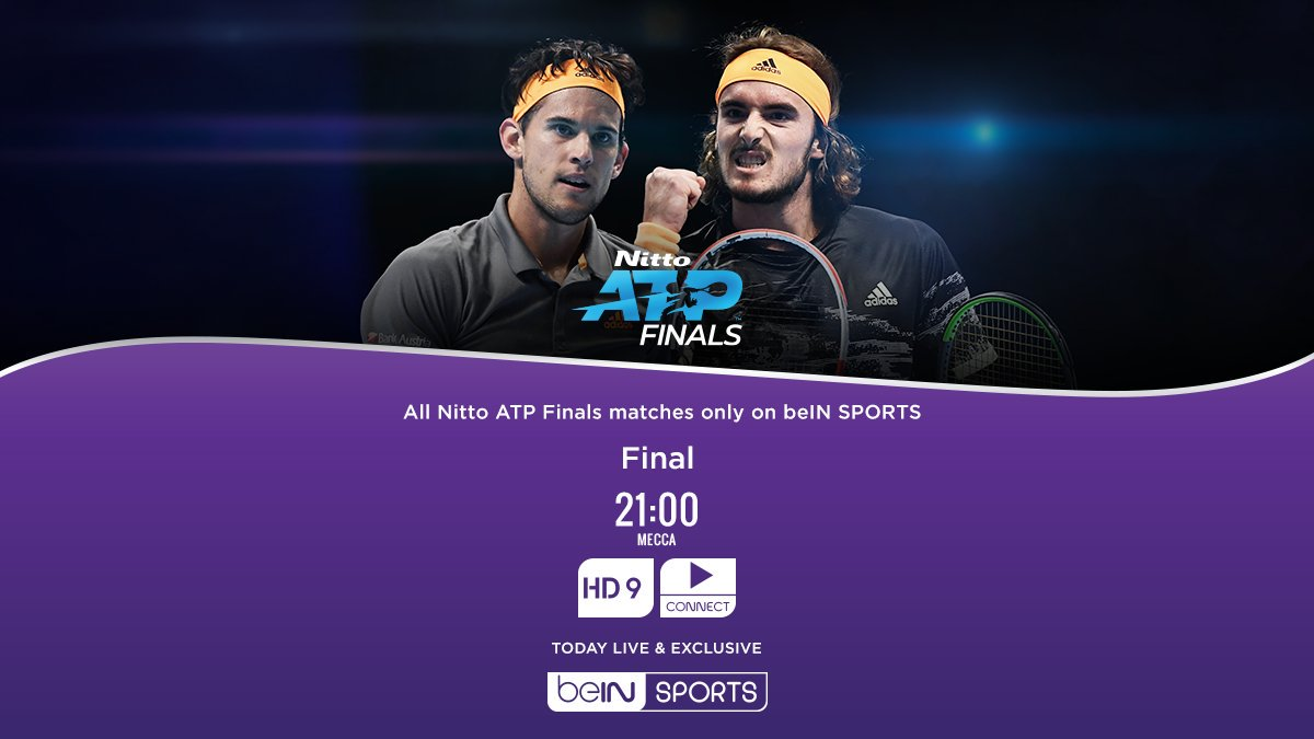 The next generation of #Tennis players collide in what should be an exciting finale. Get beIN & don't miss a point!    http:// onbe.in/1K6M2Up       +974-40-090-000  #ATPFinals <br>http://pic.twitter.com/96h8g1V7YK