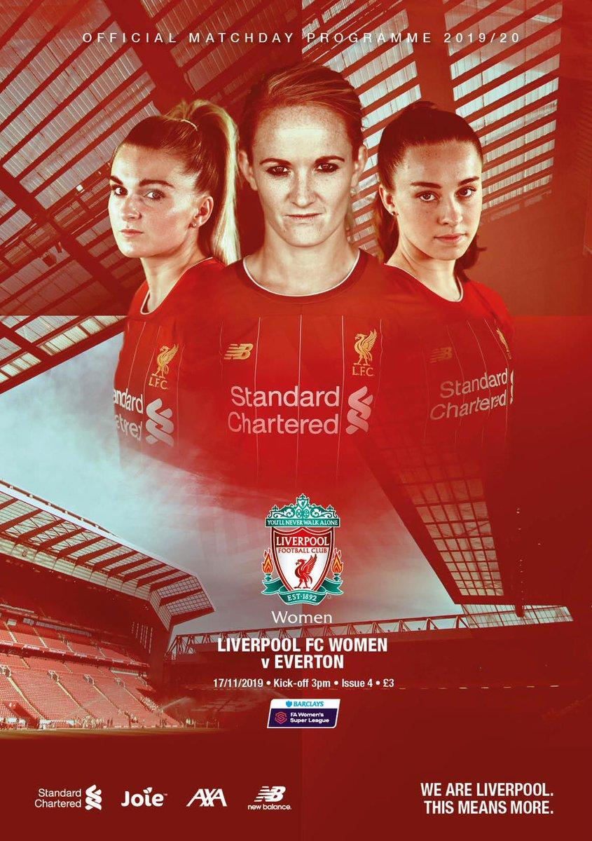 Merseyside derby!! Come on @LiverpoolFCW! #YNWA 💪🏻🔴