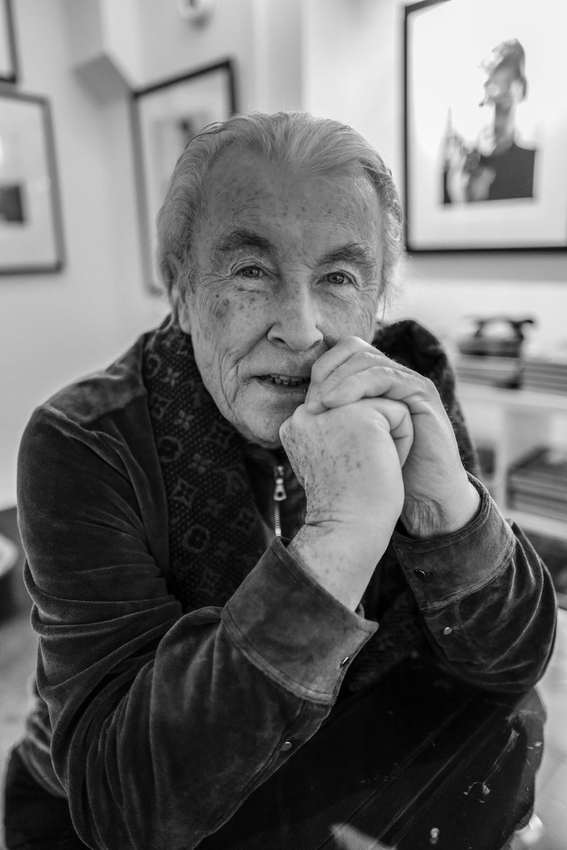 It is with a heavy heart that Iconic Images announces the passing of Terry O'Neill, CBE. Full details : iconicimages.net Photo by Misan Harriman.