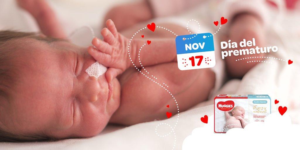 La piel del bebé recién nacido es muy delicada y más aún si su período de gestación fue más corto, por eso diseñamos un pañal especial para ellos😊 los Huggies Natural Care Cuidado Puro y Natural Prematuro 🙌 Y todo el mes todos los Natural Care tienen 15% de descuento 🥳 https://t.co/4fsMvKNFS4