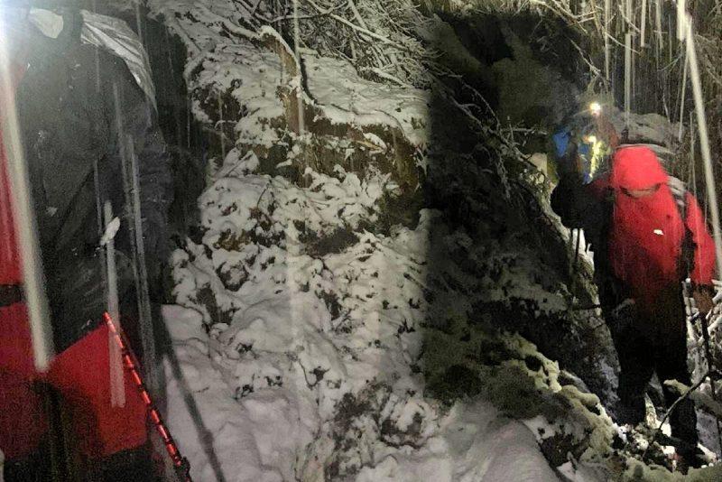 Valle di San Lucano, intervento nellanotte https...