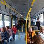 Image for the Tweet beginning: Coger un autobus en Rota