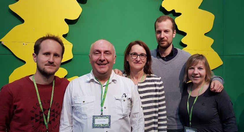 Starke Grüne-Nord Delegation auf dem Bundesparteitag.Für echten #Klimaschutz und eine #sozial #ökologische Wirtschaft #bdk19