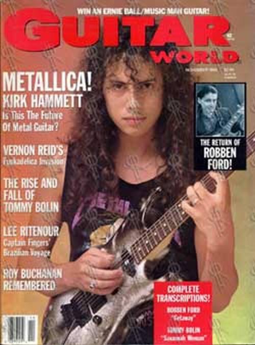 "November 18:Happy 57th birthday to musician,Kirk Hammett(\""Enter Sandman\"")"