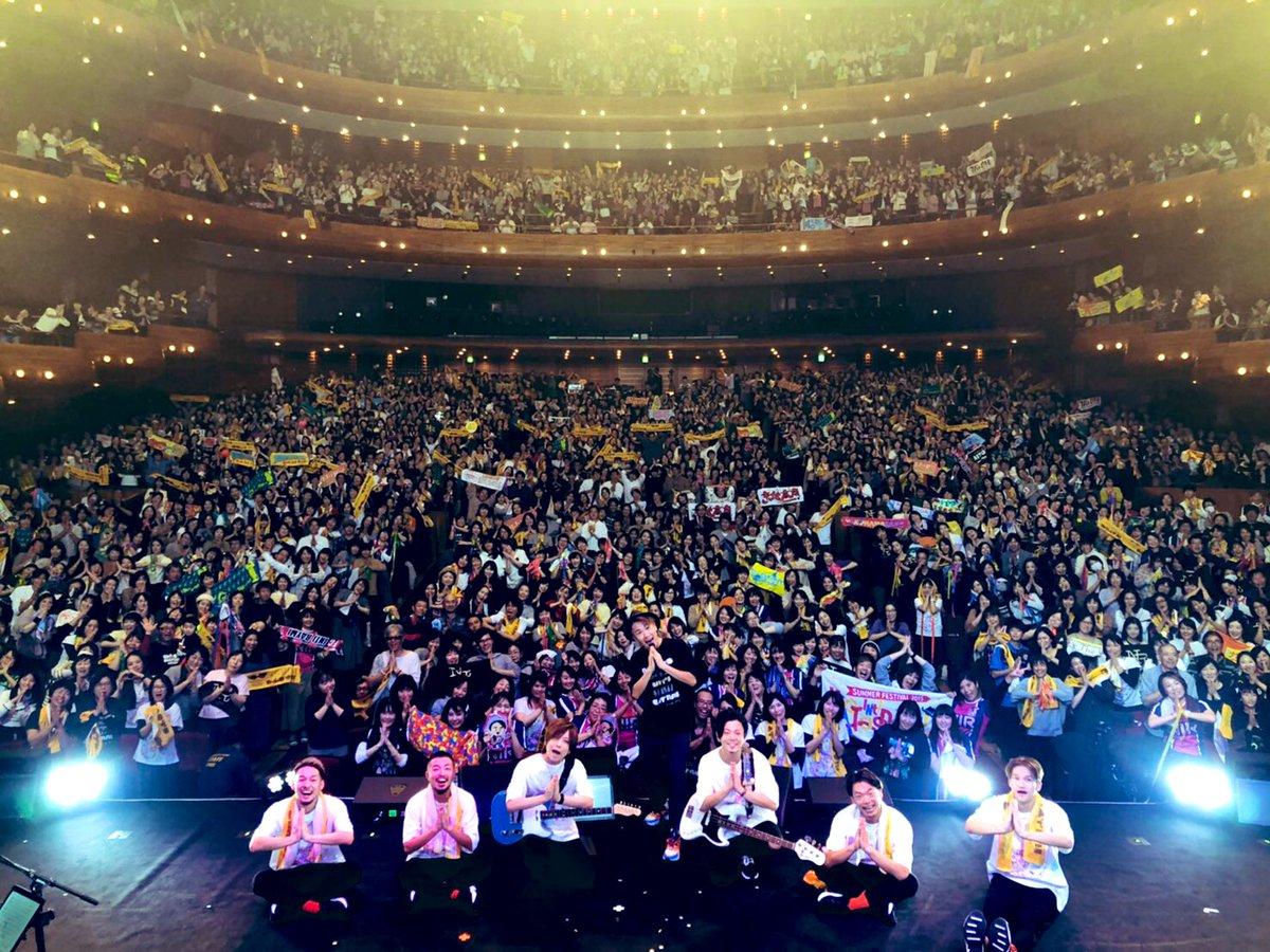 今日の神戸もめっさ盛り上がったーーー!!神戸の歌を作ってから、本当にHOME感が強くなっている気がします。来てくれて、ほんまありがとーーー!!次は大阪、フェティバろーやー!!