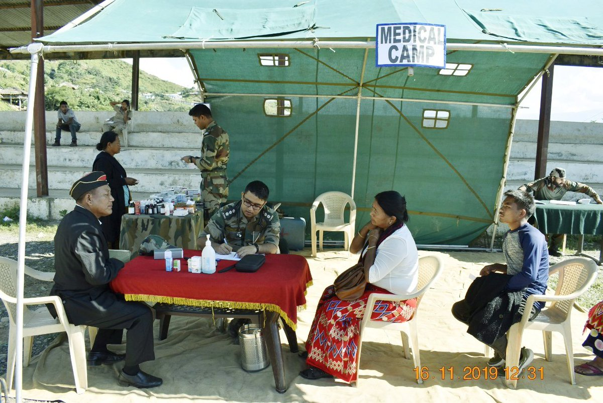 #YearofNOKAn #ESM rally was org by #AssamRifles for #ESM & Veer Naris of Longding District & South Arunachal Pradesh on 16 Nov. The rally provided a platform to them to interact with various officials & seek redressal to their grievances. @adgpi @SpokesperonMoD @official_dgar