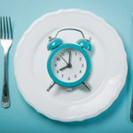 Image for the Tweet beginning: Intermittent fasting — Timing of