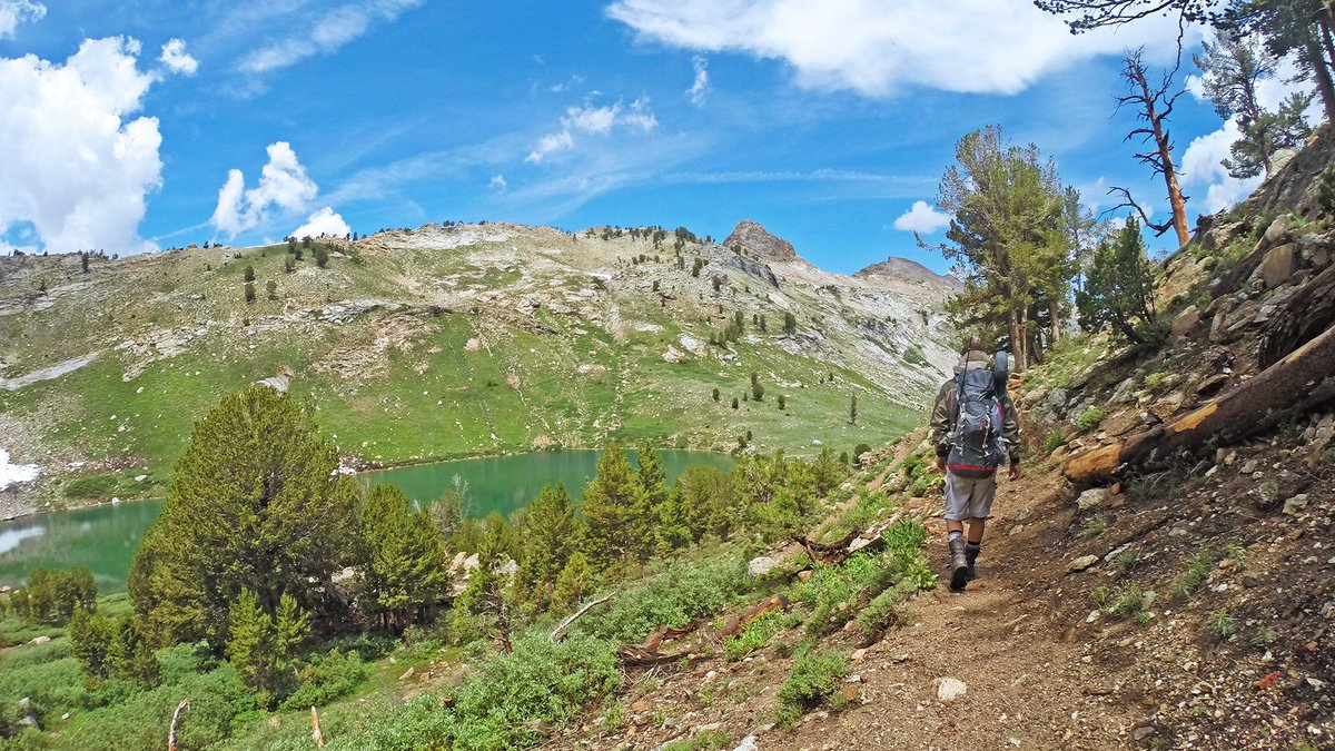 With hundreds of miles of trails in our beautiful state, it's easy to celebrate #NationalTakeAHikeDay. 👟 Check out the @TravelNevada website for some inspiration: .
