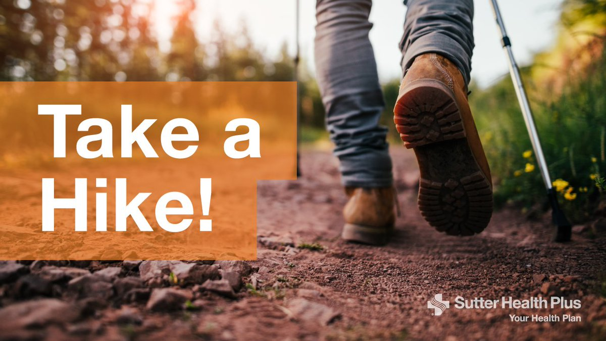It's #NationalTakeAHikeDay! #GetOutside and enjoy the beautiful trails, foothills and mountain ranges of Northern California. #Hiking #Health #Wellness