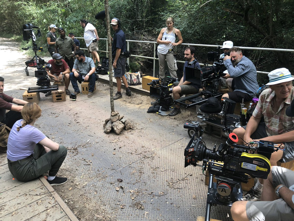 None of this is possible without an amazing dedicated crew ........ Big shout out to DC Manwiller, Jeff January our amazing DP. and AD. Who led the charge. We have a great crew in atl. Hard working great folks. Proud to know each and everyone of you. #TWDFamily 👊👊👊
