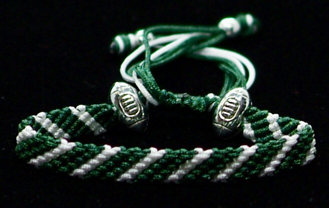 Who's wearing their #handmade #NFLRopes for @nyjets vs @Redskins #TakeFlight #HTTR #NYJvsWAS
