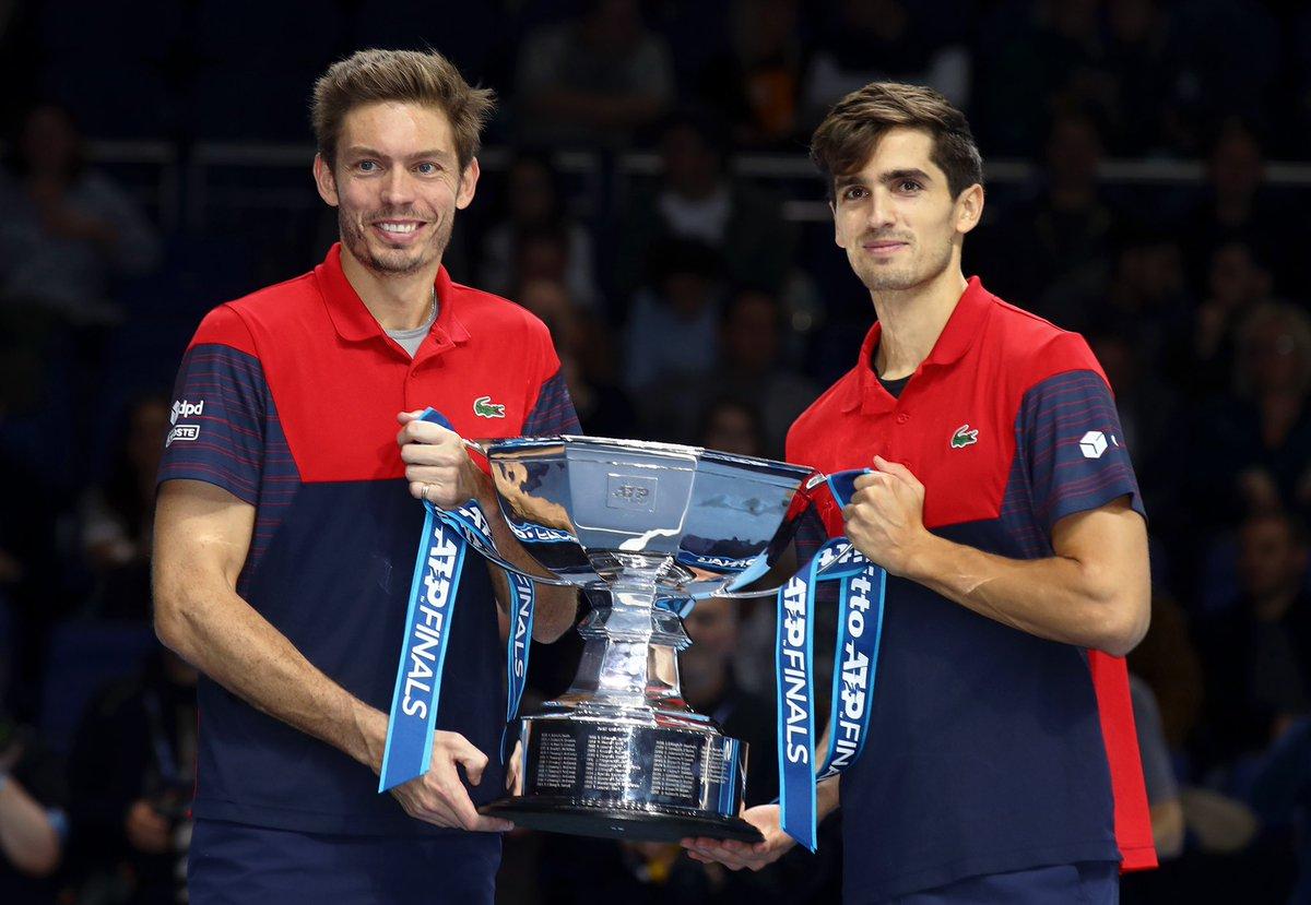 ATP Finals. Французы Маю и Эрбер впервые стали победителями Итогового турнира