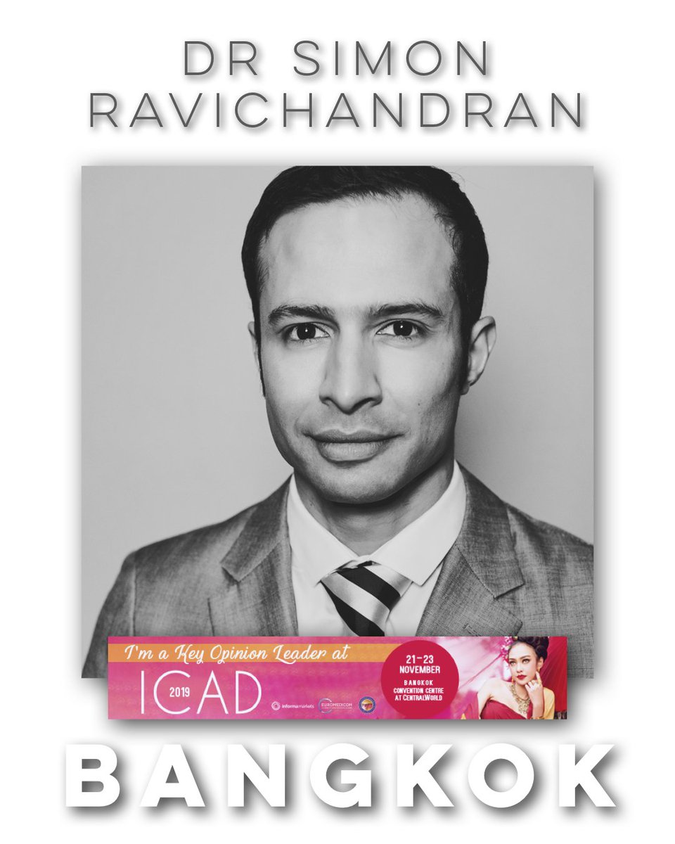 test Twitter Media - Dr Simon Ravichandran will be a key opinion leader at ICAD​ in Bangkok this month!   Simon will be performing a number of lectures and live demonstrations on a range of topics including Periorbital Rejuvenation and Non-Surgical Rhinoplasty.   https://t.co/NRnfw3dW0L https://t.co/Q6FGN4OkIc