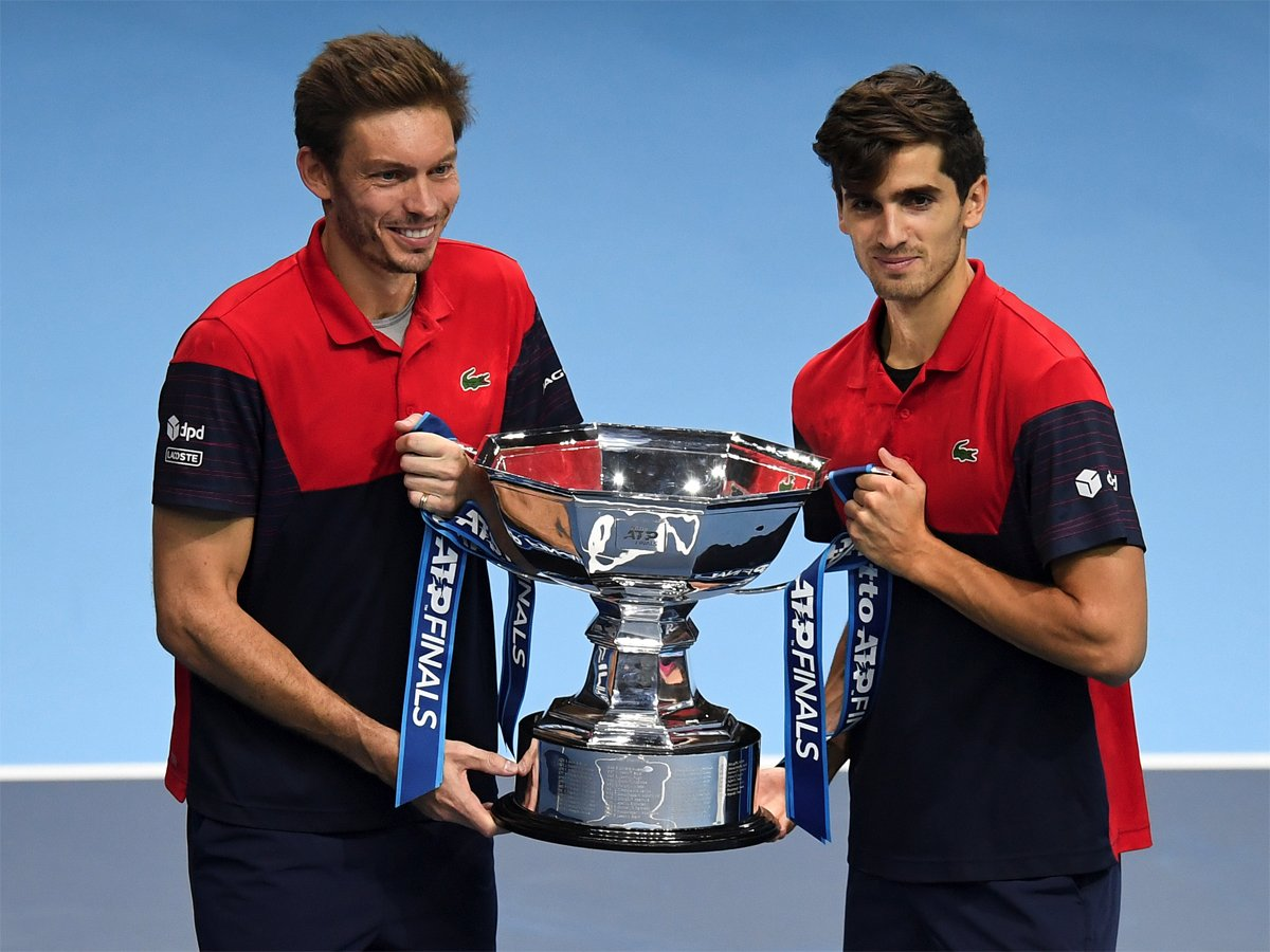 #ATPFinals #ATP@p2hugz and @nmahut win ATP Finals doubles crownRead: http://toi.in/OgmSYZ42/a24gk