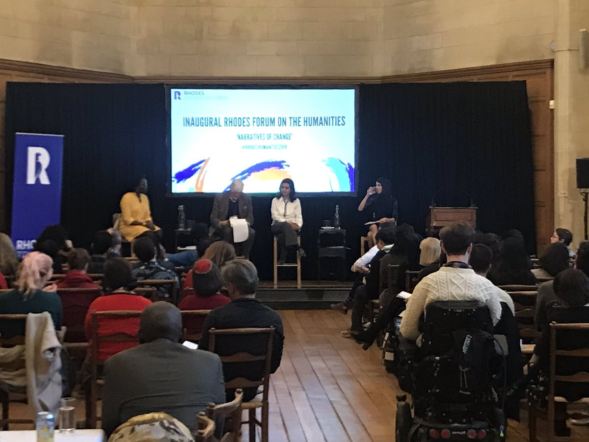 'Writing as Action' - current panel at #RhodesHumanities2019. What does that mean to you?