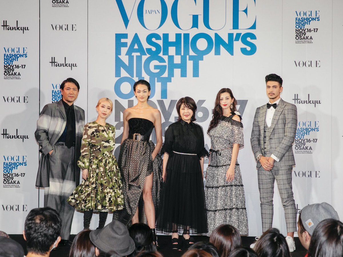 #FNO_Osaka @voguejapan  Great to see you❤︎ thank you for coming  #aitominaga #冨永愛