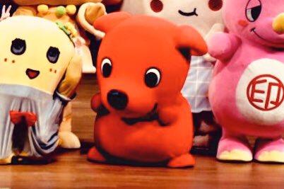このチーバくん子犬感があってかわゆすなっしー♪ヾ(。゜▽゜)ノ