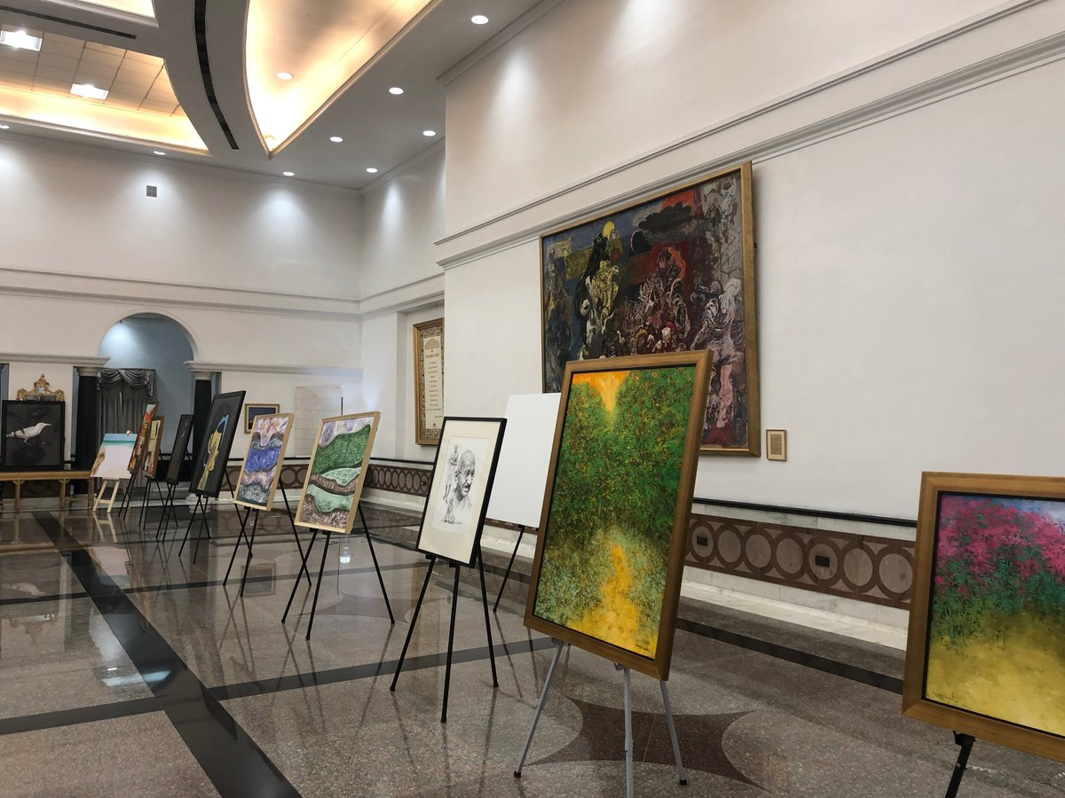 The visitors to the Rashtrapati Bhavan Museum can witness the exhibition of these paintings from November 19 to 24, 2019 between 0900 hrs and 1600 hrs. Entry will be from Gate Number 30 of Rashtrapati Bhavan.