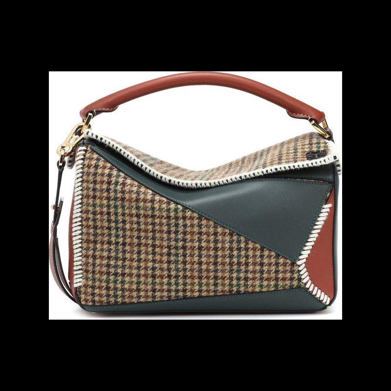 LOEWE Puzzle tweed shoulder bag   Shop it now on LUXED