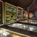 Image for the Tweet beginning: At the Pinball Museum in