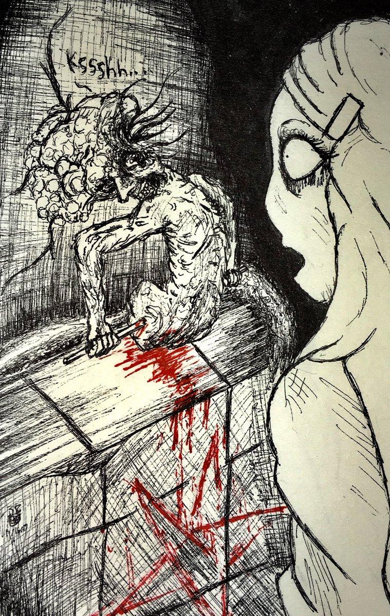 Картинки хоррор инк
