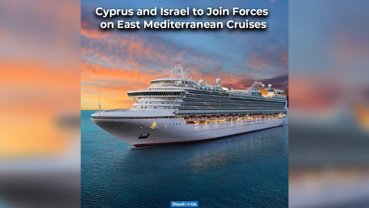 Israel teams up with Cyprus to promote Eastern Mediterranean cruises.