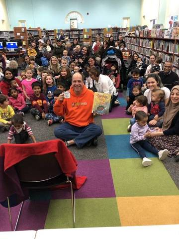 TAPinto Celebrated #ReadForTheRecord Day at the Nutley Public Library: Thank You, Omu  http://ow.ly/URPv50x78Ap