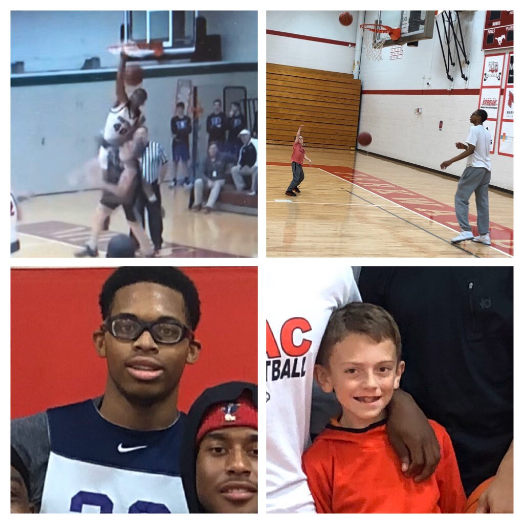 Happy birthday weekend to 1 of the best 🏀 players (Devion) and best💧waterboys (Grady) in metropolitan St. Louis!