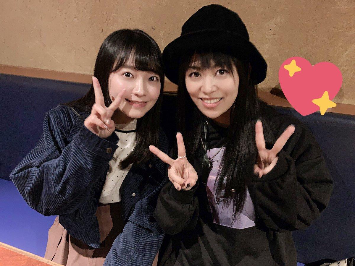 昨日の夜はなんとイベントで同じく大阪に来てた相羽あいなさんに会えた!!!!🙌東京でもあいあいさん。大阪でもあいあいさん。☺️笑写真展おつかれさまでした♡