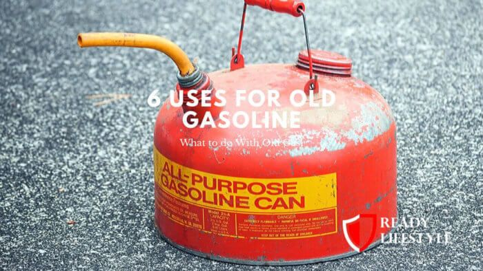 6 Uses for Old Gasoline - What to do With Old Gas  #preppers #survival #shtf #emp #generator #solar #camping #explore #guns #travel