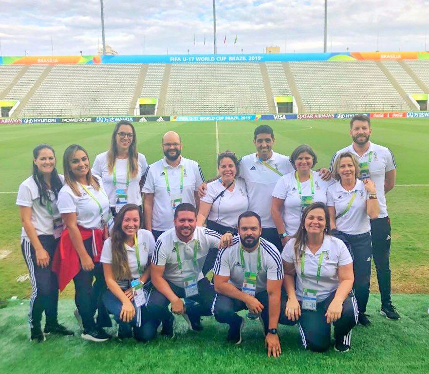FINAL❗️- Copa do Mundo Sub-17 da FIFA Brasil 2019™️❗️Foi um prazer, senhores! #QueTime #u17wc #maisumpraconta #comunicacao #esporte #quevenha2020 https://t.co/YGN4eQO2rI
