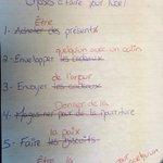 Image for the Tweet beginning: Super liste de choses à