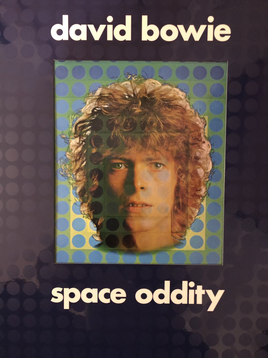 You know you're old when what makes you happy is the crackle of needle meeting vinyl. Happy 50th #SpaceOddity