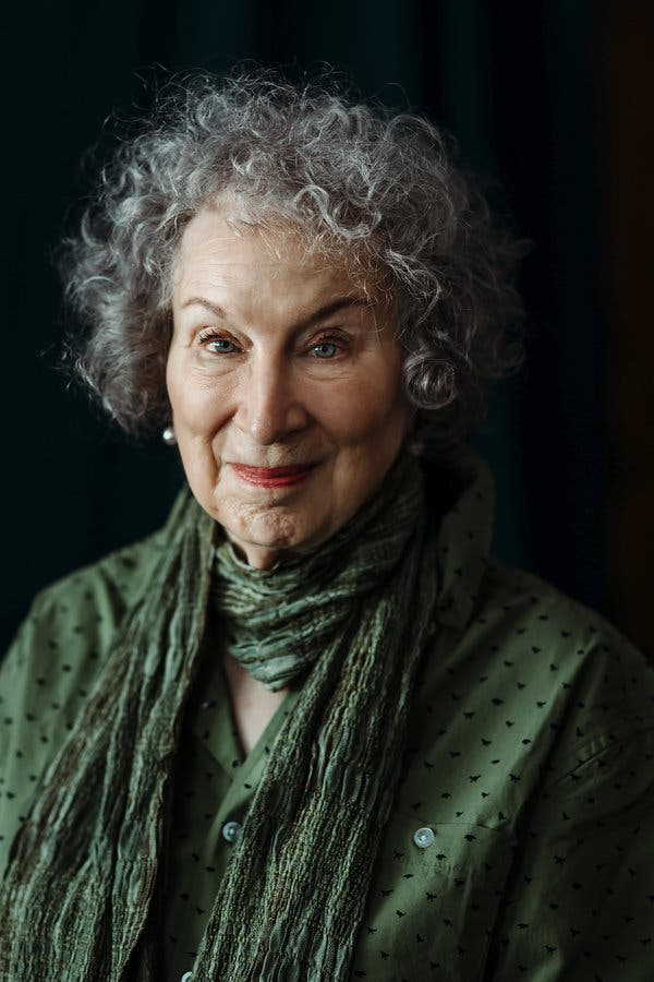 Born on this day in 1939, poet, novelist, literary critic, essayist, inventor, teacher, and environmental activist Margaret Atwood.