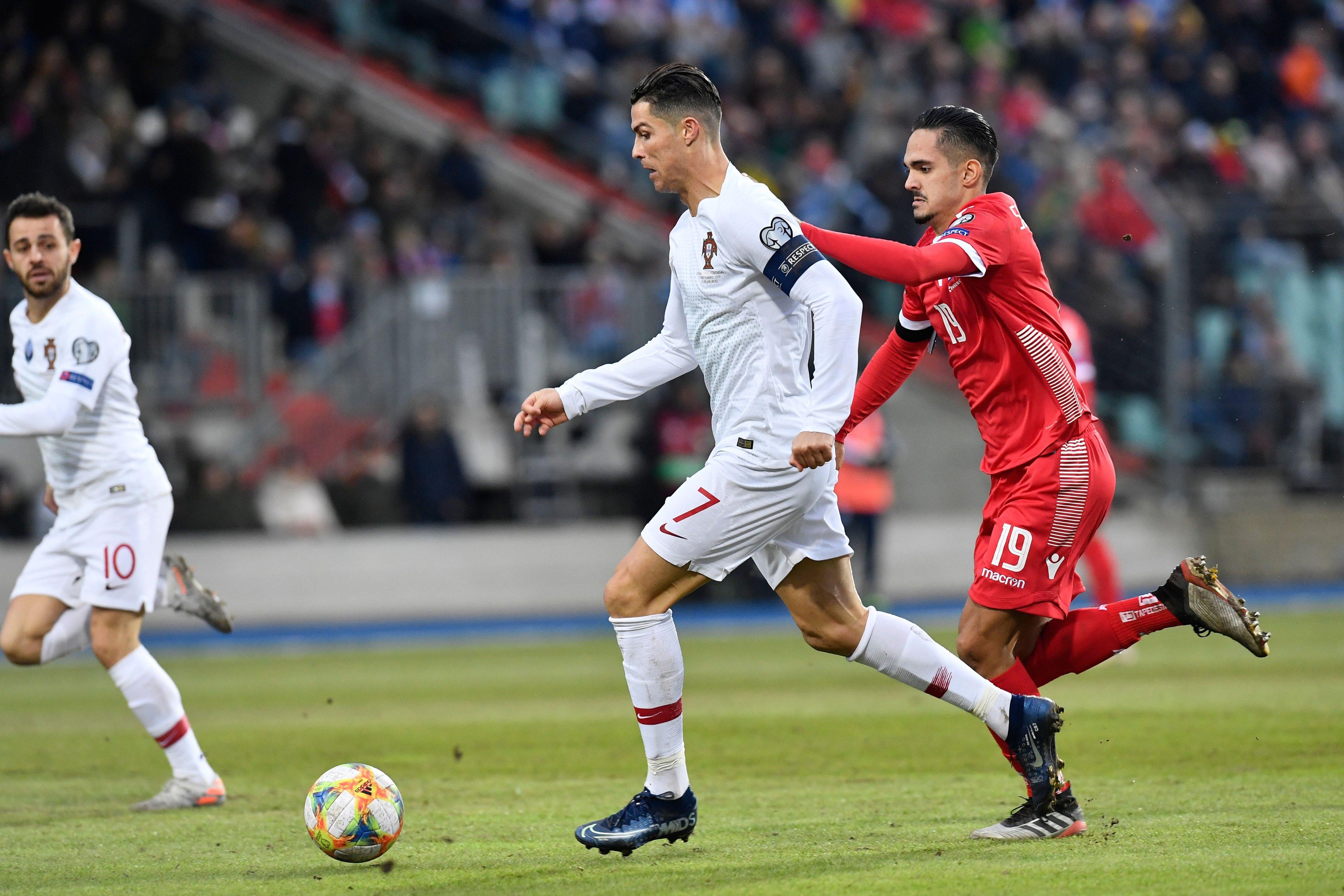 بقيادة رونالدو البرتغال تتأهل إلى كأس الأمم الأوروبية 2020 على حساب لوكسمبورج