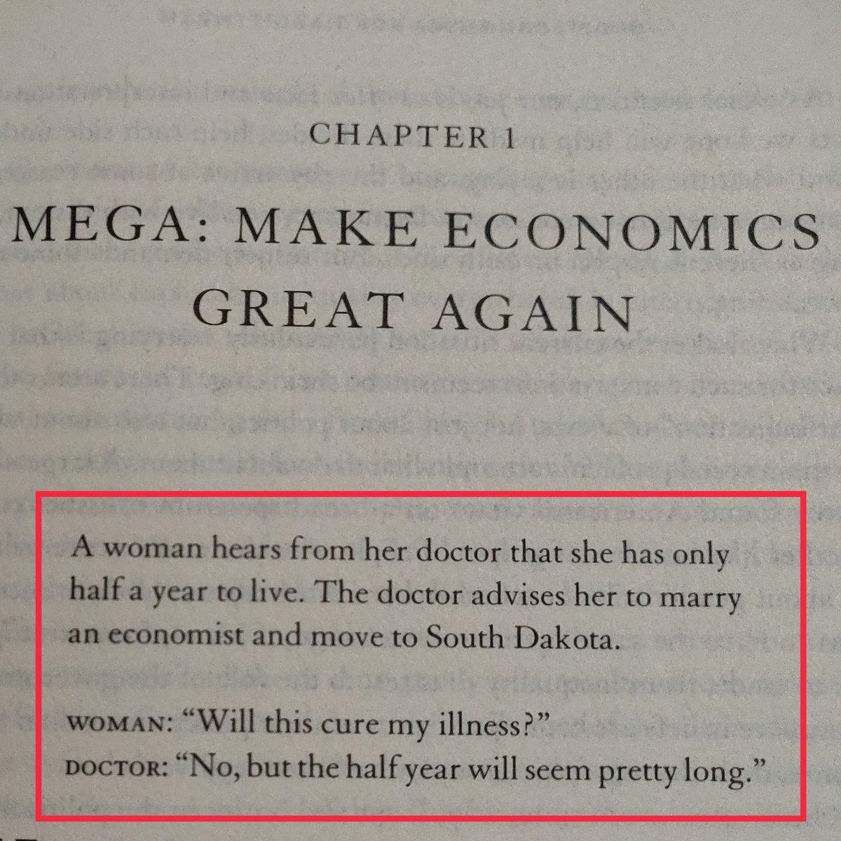 I like the beginning #GoodEconomicsforHardTimes #abhijitbanerjee #estherduflo #NobelPrize