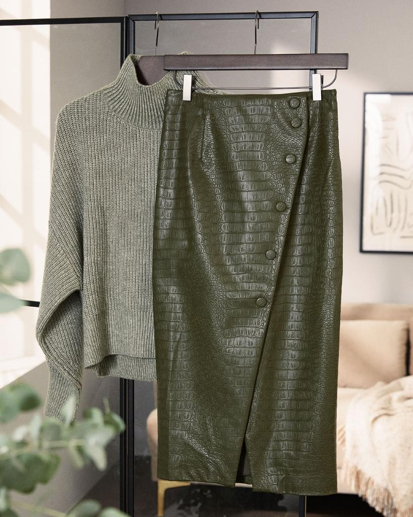 New knits, chic skirts and much more! Discover our...