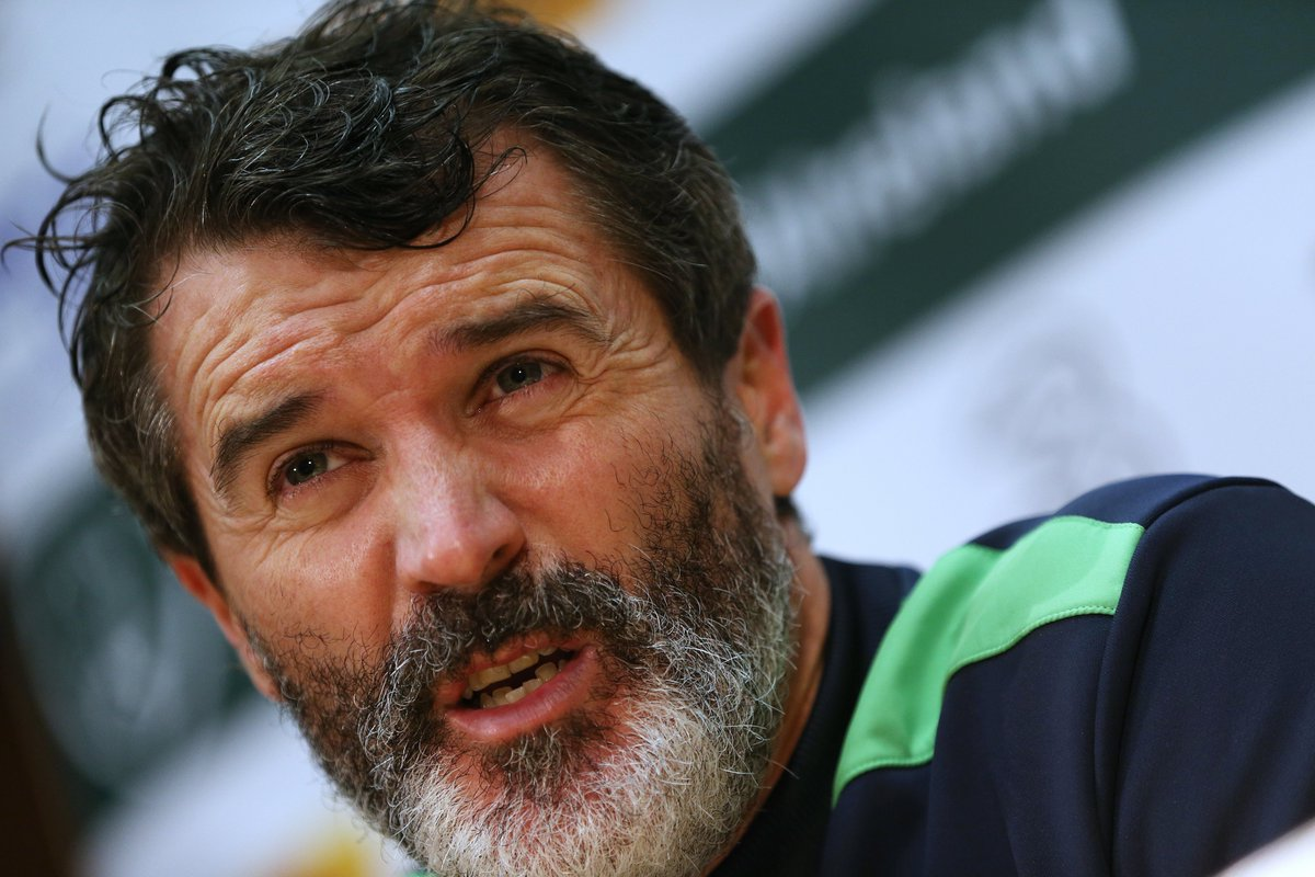 Roy Keane on what he thinks Declan Rice needs to improve on: His positioning, not consistent enough, tracking runners, sloppy in possession... I can go on 😅😅😅