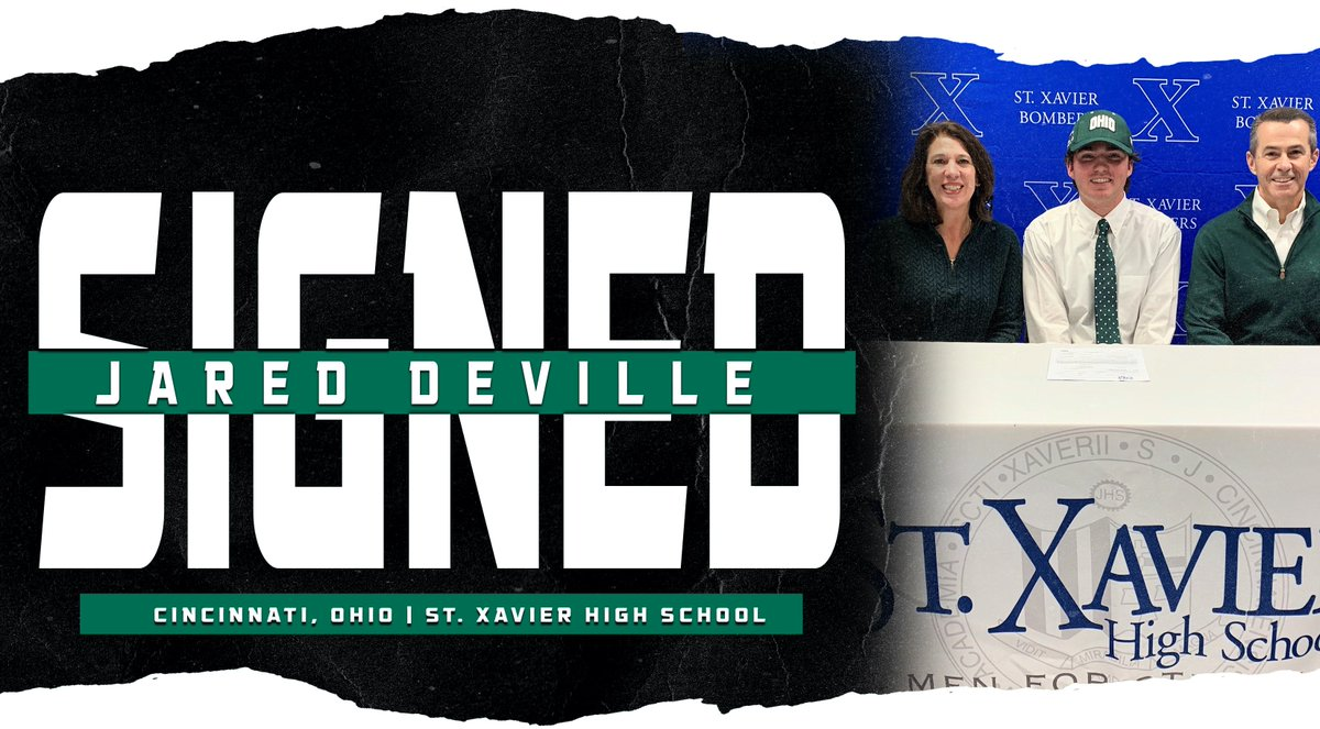 We are thrilled to announce our 2019-20 signing class!  Welcome to Ohio, Jared DeVille and Henry Poston!  #BleedGreen https://t.co/D9UFTB0Gqi