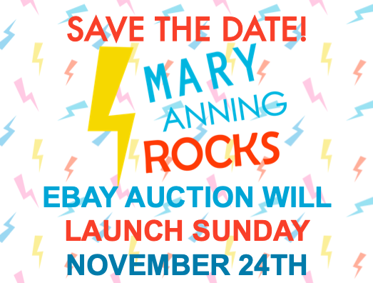 SAVE THE DATE: We will launch our @eBay fundraiser on the 24th Nov and have amazing gifts from @theAliceRoberts @Dean_R_Lomax @CCriadoPerez @Tracy_Chevalier @jurassic_coast @NHM_London @bristolmuseum @LaurenceAnholt @CharmouthHCC @etchescollect @LushLtd @SarahMassini & many more